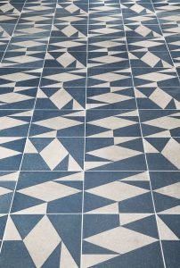graphic tile pattern
